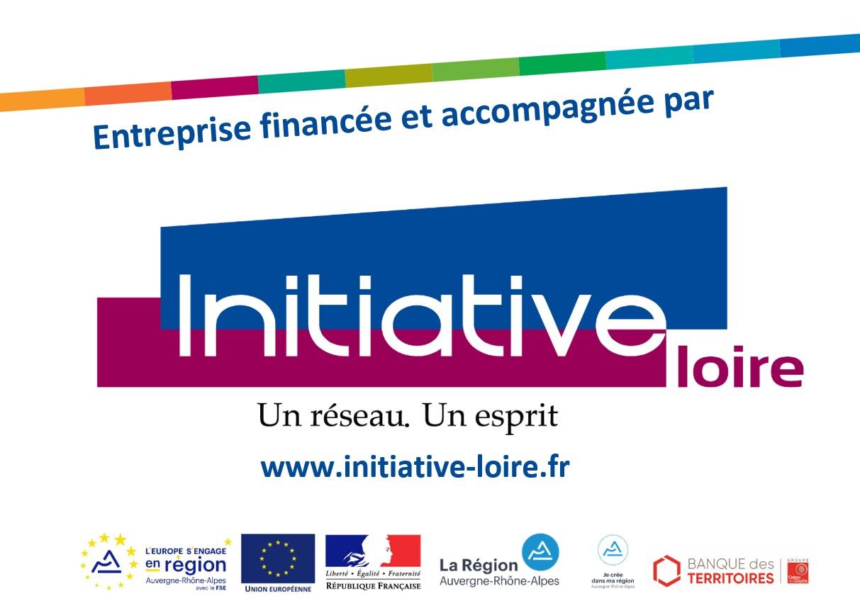 Logo entreprise initiative loire